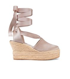 TORY BURCH Elisa Wedge Espadrille. #toryburch #shoes #all