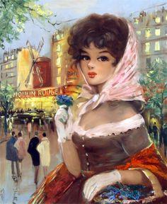 Парижанки... Eugene Tissot.. Обсуждение на LiveInternet - Российский Сервис Онлайн-Дневников
