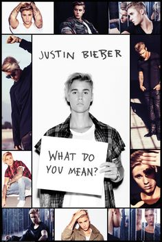 Justin Bieber Grid - Official Poster