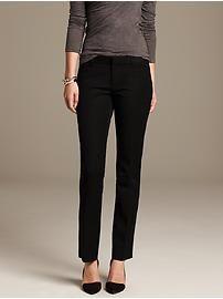 Sloan-Fit Black Straight Leg