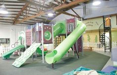 We're known for our clean, safe, fun indoor playground!