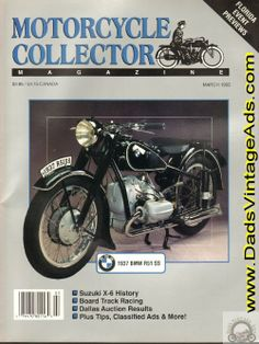 1937 BMW R51 SS Classic Motorcycle