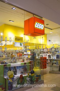 The LEGO Store in Overland Park - My kids' new favorite store in the #KC area