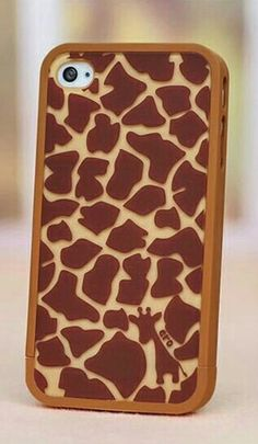 Shop Cute Giraffe Skin Pattern Plastic Protective Case For iPhone 4 at ROMWE, discover more fashion styles online.