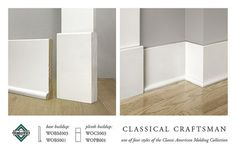 classical craftsman baseboards