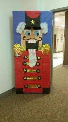 Nutcracker classroom door decoration DIY