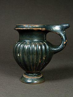 Όστρακο Αρχαία Τέχνη, Ελληνική βοιωτική Άμισχα Κάνθαρος, 450-425 π.Χ.
