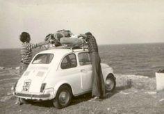 Anni '60: in viaggio con la fiat500