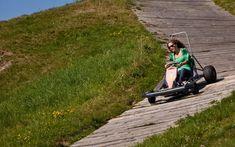Erleben Sie beim einzigartigen Cart-Spass Adrenalin pur! Entlebucher, Racing, Group Tours, Road Trip Destinations, Explore, Running, Auto Racing