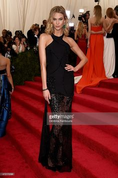 Karlie Kloss attends the 'China: Through The Looking Glass' Costume Institute Benefit Gala at the Metropolitan Museum of Art on May 4, 2015 in New York City.
