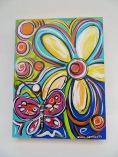 Resultado de imagen para painting for beginners on canvas spanish ideas