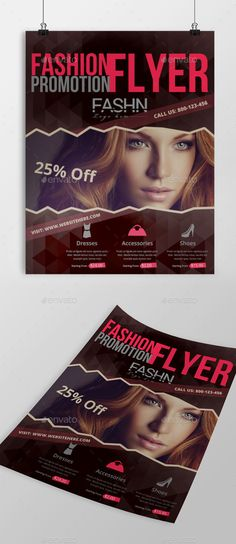 Fashion Flyer — Photoshop PSD #style #flyer • Available here → https://graphicriver.net/item/fashion-flyer/12226695?ref=pxcr