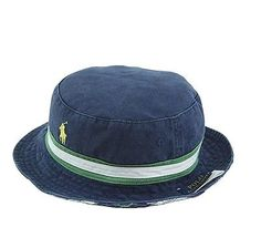 ae7c413575b Polo Ralph Lauren Mens Reversible Solid Tartan Bucket Hat S M NWT