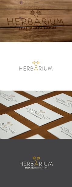 Herbarium - identyfication for a herbal shop