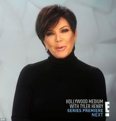 Family dynamics: Kris noted that her daughters delighted in torturing her Layered Bob Hairstyles, Pixie Hairstyles, Pixie Haircut, Short Hairstyles For Women, Trendy Hairstyles, Short Hair Styles Easy, Short Hair Cuts, Kris Jenner Haircut, Kris Jenner Style