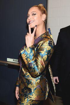 Beyoncé at the TIDAL X: 1015 Benefit Concert. October 15, 2016 in New York City.