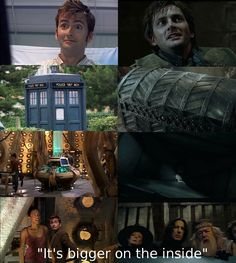 Oh. My. God. Mind... Blown. It's like David Tennant HAD to be Barty Crouch Jr. just so the Doctor Who reference would work here....