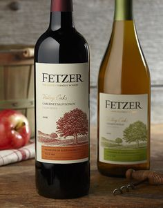 Fetzer Vineyards Wine Wine Label & Package Design California
