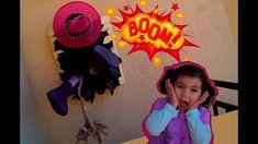 Crea tu Bruja estrellada - accidentada en 3D. RECICLAJE. Halloween witch