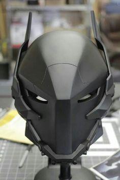 Arkham Knight Helmet.  More about batman here.