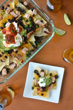 Ultimate Chipotle Pork Nachos: Perfect for your Cinco de Mayo party.