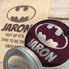 Superhero Socks in a Tin Personalised Wedding Gift Purple Socks, Matching Gifts, Colorful Socks, Personalized Wedding Gifts, Groomsman Gifts, 2nd Birthday, Groomsmen, Big Day, Tin