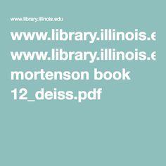 www.library.illinois.edu mortenson book 12_deiss.pdf