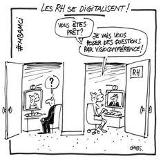 Digitalisation des RH : humour