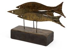 Bronze Fish Sculpture