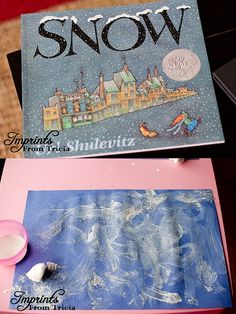 "Read this delightful little book about snow and follow up with a story extension activity that includes making ""snow scenes""!"