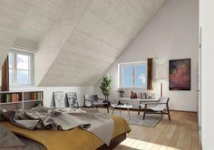 STOMEO Architektur Visualisierung - Zürich Oversized Mirror, Furniture, Home Decor, Architecture Visualization, Real Estates, Floor Layout, Bed Room, Decoration Home, Room Decor