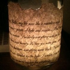 Easy to do candle holder!
