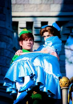 Peter Pan and Wendy by abelle2, via Flickr
