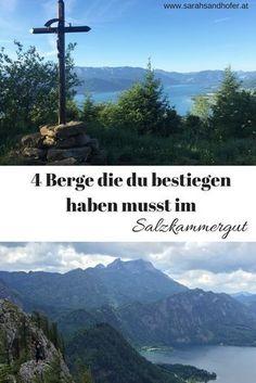 4 Berge die du im Salzkammergut umbedingt bestiegen haben musst. ( von einfache bis geübte Wanderungen) (Wandern in Österreich, Salzkammergut, holidays in Austria, hiking quotes) Oahu, Hiking Quotes, Heart Of Europe, Austria Travel, Salzburg, Love, Van Life, Trekking, Places To See