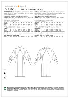 Patron de robe Vogue 1426