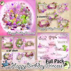 Happy Birthday Princess _ FULL PACK  by Marie