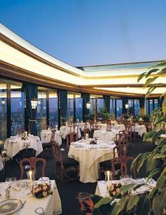 Hotel de Maris in Monaco ~Le Grill rooftop restaurant and bar~ winner of prized Michelin star
