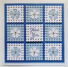 Visit the blog today to see Julia's card made using the Beaded Squares Die D-Lite Die Set.