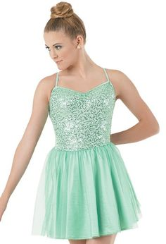 Sequin, Tulle & Satin Dress