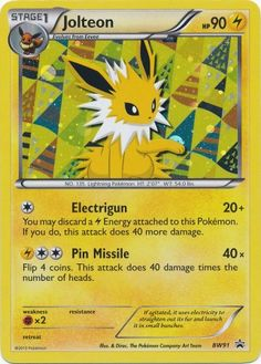Jolteon - BW91 - Holo Promo - Black & White Promos - Pokemon