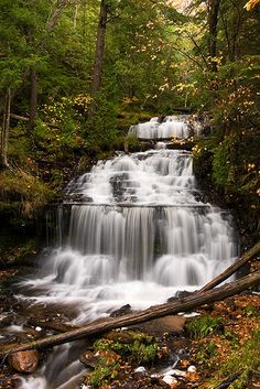 Stairway To Heaven - Wagner Falls Munising, Michigan