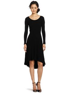 Rebecca Taylor Women's Hi Low Longsleeve Dress  where can i find dresses  http://wherecanifinddresses.com