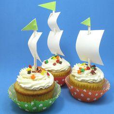 Mayflower Thanksgiving Cupcakes