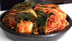 Kimchi, very stinky but so delicious.