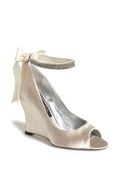 Something Lustrous...Nina 'Emma' Crystal Embellished Ankle Strap Pump (Online Exclusive) available at #Nordstrom