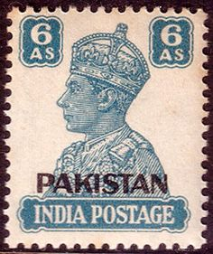 Pakistan 1947 SG 10 India Overprints Fine Mint SG 10 Scott 10 Condition Fine MNH Only one post charge applied on multipule purchases Details N B With