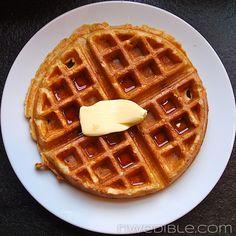 Whole Wheat Waffles. So good.