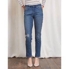 Boden Cavendish Girlfriend-Jeans Denim Damen Boden