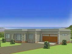 Image Result For Single Storey Flat Roof House Plans In South