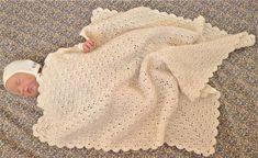 Hæklet babysvøb – Luksuskrea – Hækling strik og håndarbejde
